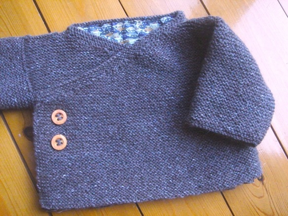Laine: Rowan Felted Tweed, coloris cocoa